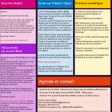 Agenda août - septembre